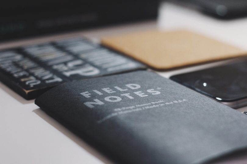 young brand startup field notes concepts