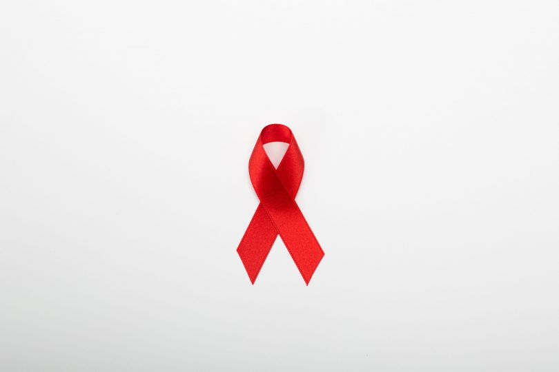 red ribbon aids charity