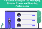 remote team management boosting performance