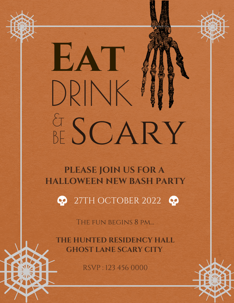 How To Create Better Posters For Your Restaurant's Events