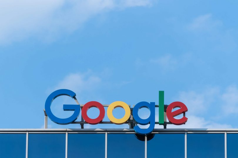 Logo of the search engine Google